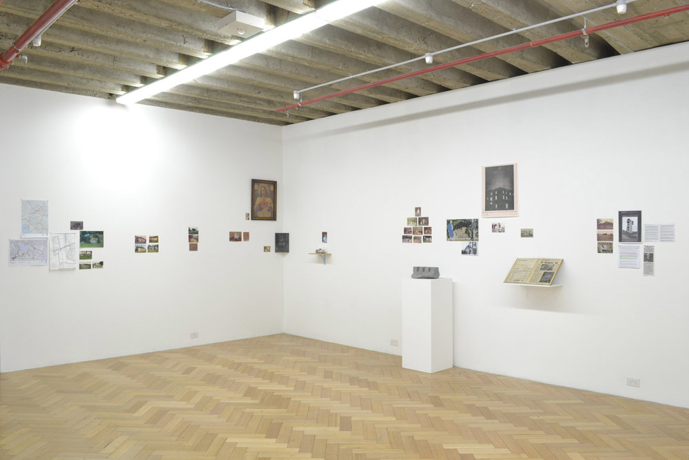 Monuments of Fiction (2012), installation view, West Spacevv
