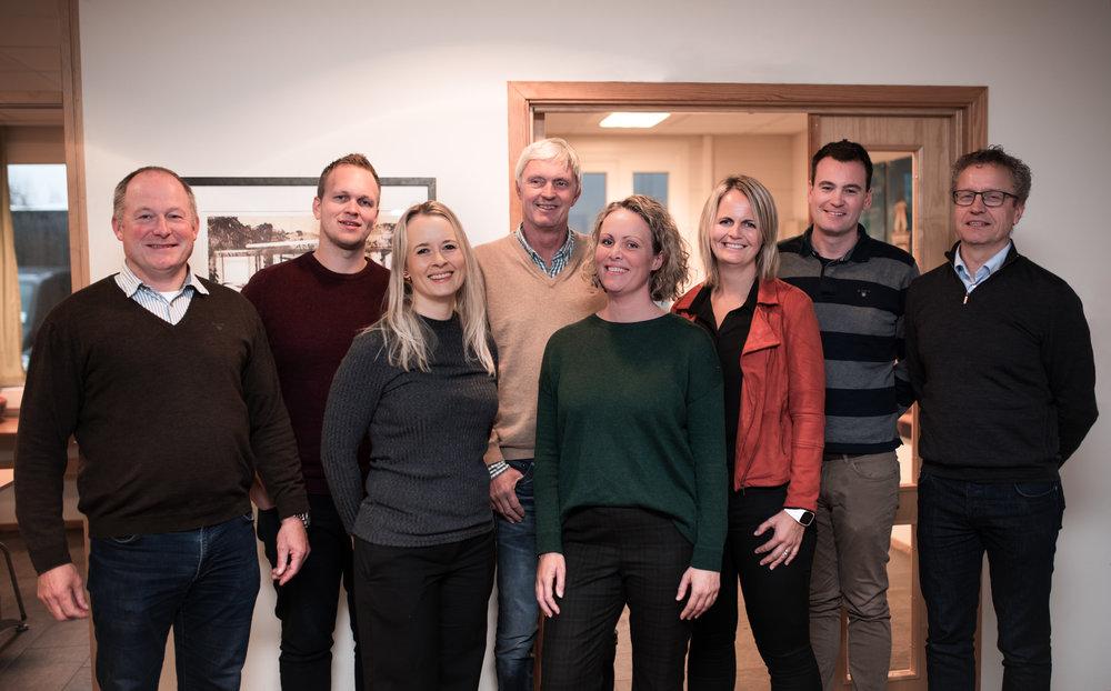 En trivelig og kompetent gjeng i administrasjonen vil sørge for at nyansatte blir tatt godt vare på i det Søgne-baserte firmaet.