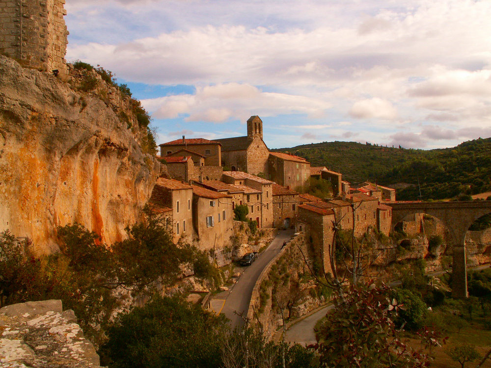 Minerve  - This charming hilltop town with cobbled streets is accessible only via its bridge