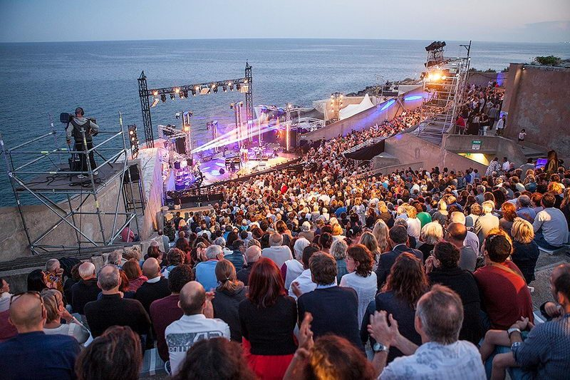 Sète's jazz festival in July