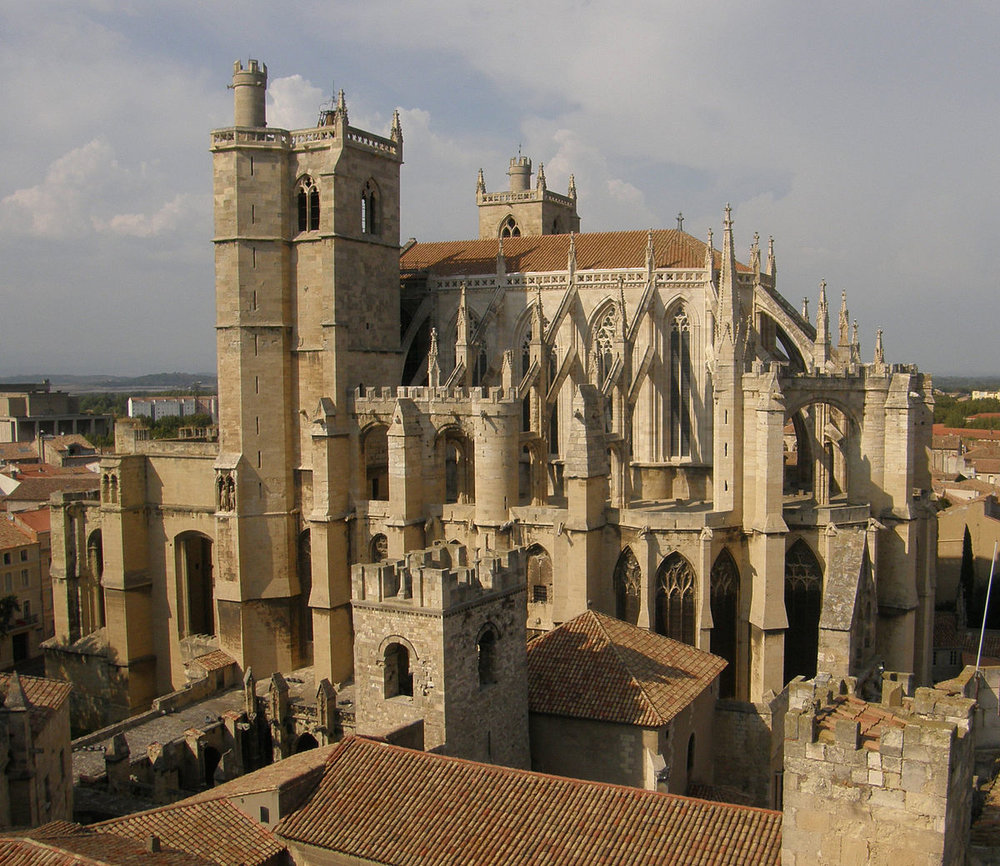 Narbonne  - This picturesque city was a prosperous port in the Roman times and has a lively indoor market