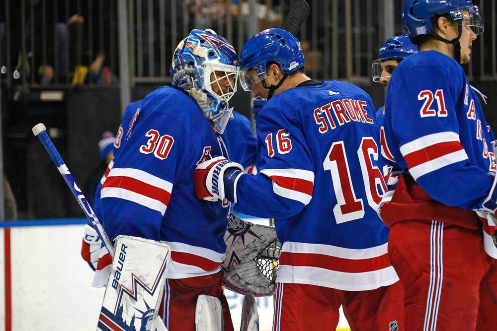 5839588a3e8 New York Rangers Notebook: Strome, Hot Streaks & More — Steele Does ...