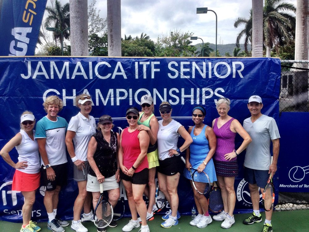 Members from the Bayview Club in Toronto at Jamaica Cup