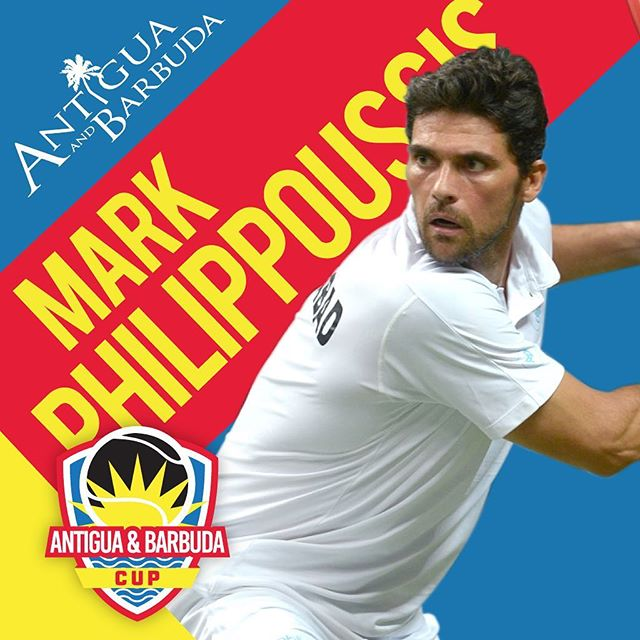 We welcome @mphilippoussis & @jodymaginley to the Antigua & Barbuda Cup tonight for a much-anticipated pro exhibition match. Join us at 4pm if you're on the island 👏 • • • •  #exhibition #tennis #antigua #Caribbean #atpworldtour #atp
