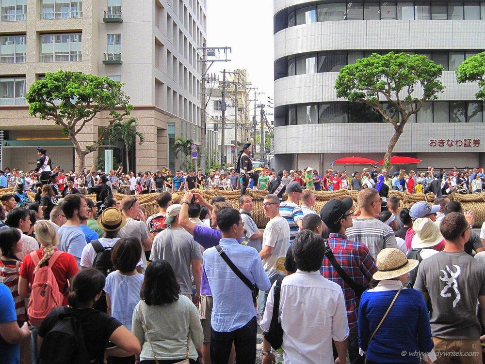 Okinawa's Naha Tug of War Festival