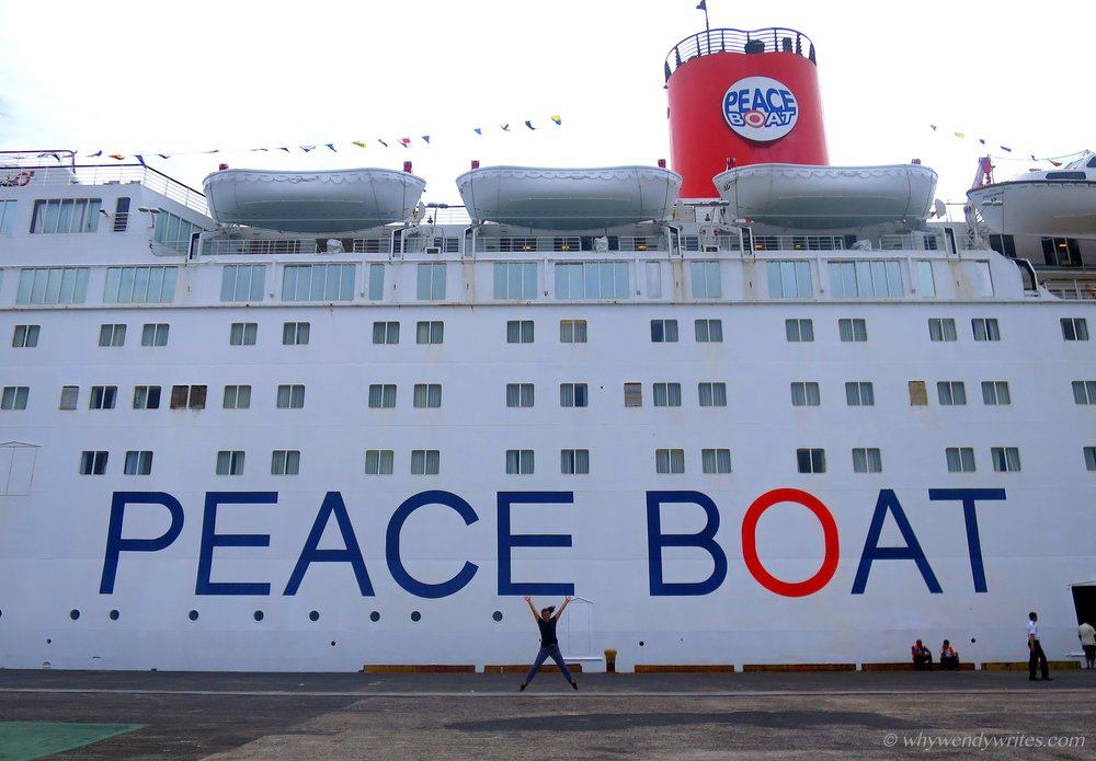 My 88th Peace Boat Voyage - I was very lucky to be able to join the 88th Peace Boat Voyage as a volunteer English teacher. Read more about my adventures here!