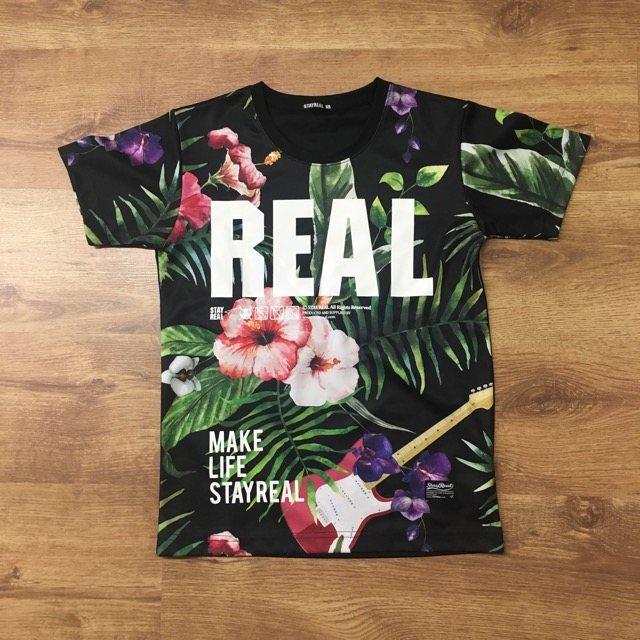 Stay Real Rock Tee - Brand New but no price tagSpecial Dri-fit materialI bought this in Japan but it does not fit me!Price: $58.00 SG