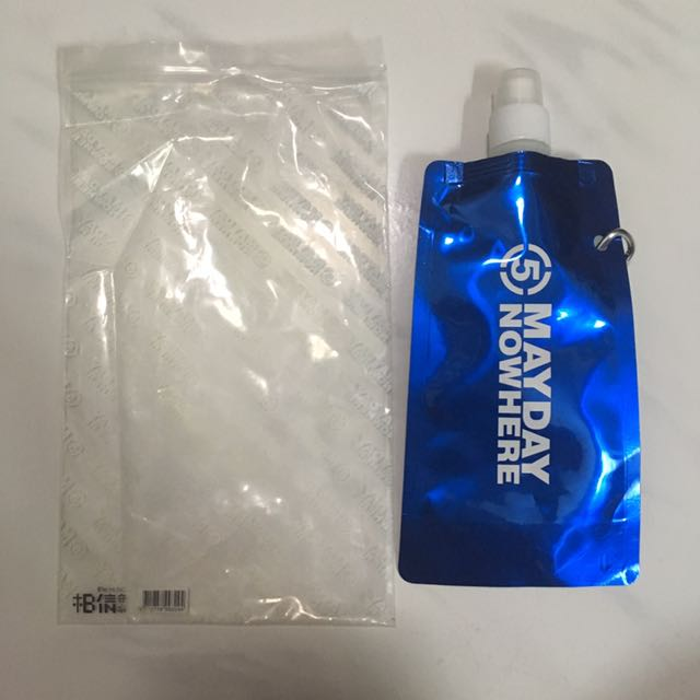 Nowhere Tour Water Bottle (Brand New)諾亞方舟-世界一舟太空水囊 - Still in plastic wrappingNever used before!Price: $10.00 SG