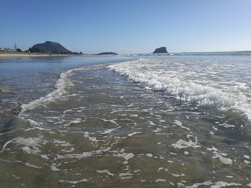 Mt Maunganui on the east coast of the North Island by Jesse Whitehead of  Ryukyucam