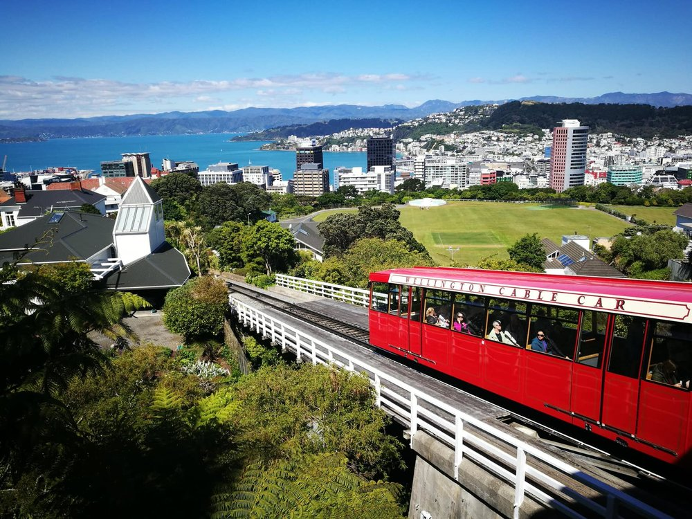 Wellington Cable Car by Jesse Whitehead of  Ryukyucam