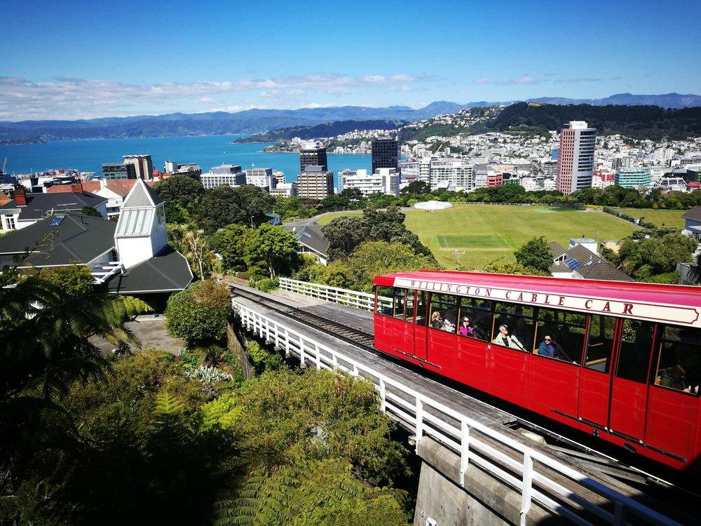 Wellington Cable Car by Jesse Whitehead of  Ryukyucam