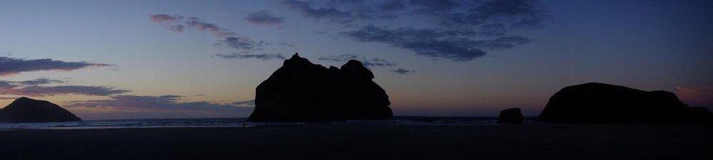 Wharariki Beach by Chiaki Bolam-Smith