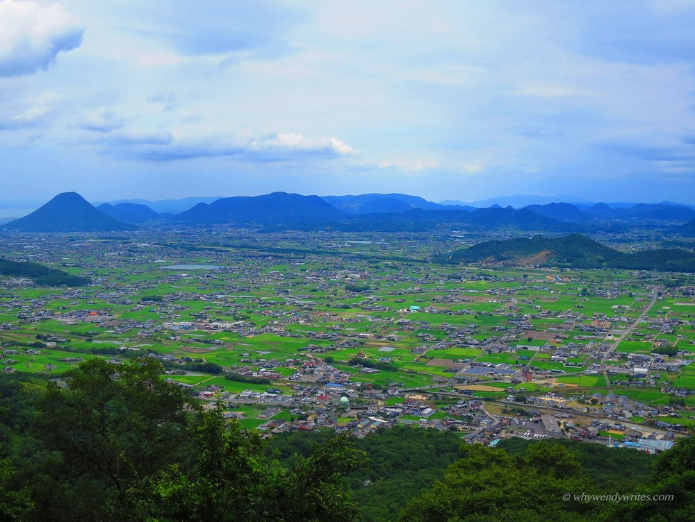Enjoy panoramic views after climbing 785 steps to the Main Shrine
