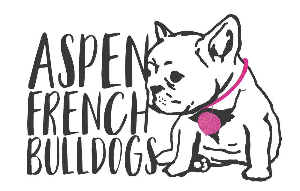 Aspen French Bulldogs logo