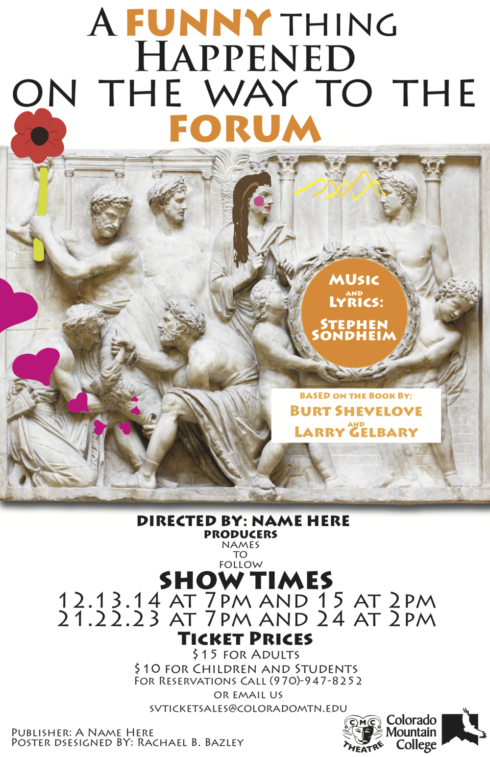 Published Poster for CMC's production