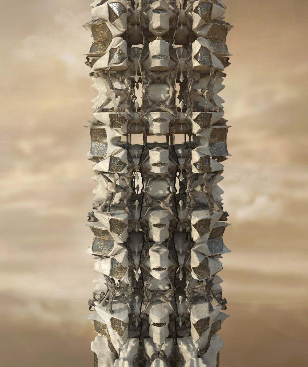 Mushroom Space // Exterior Rendering