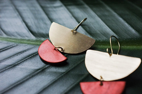 How gorgeous are these? By Brass+Clay.