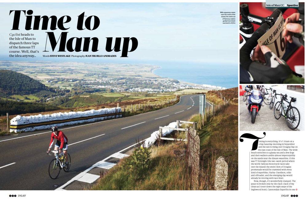 Cyclist Magazine 7 page article