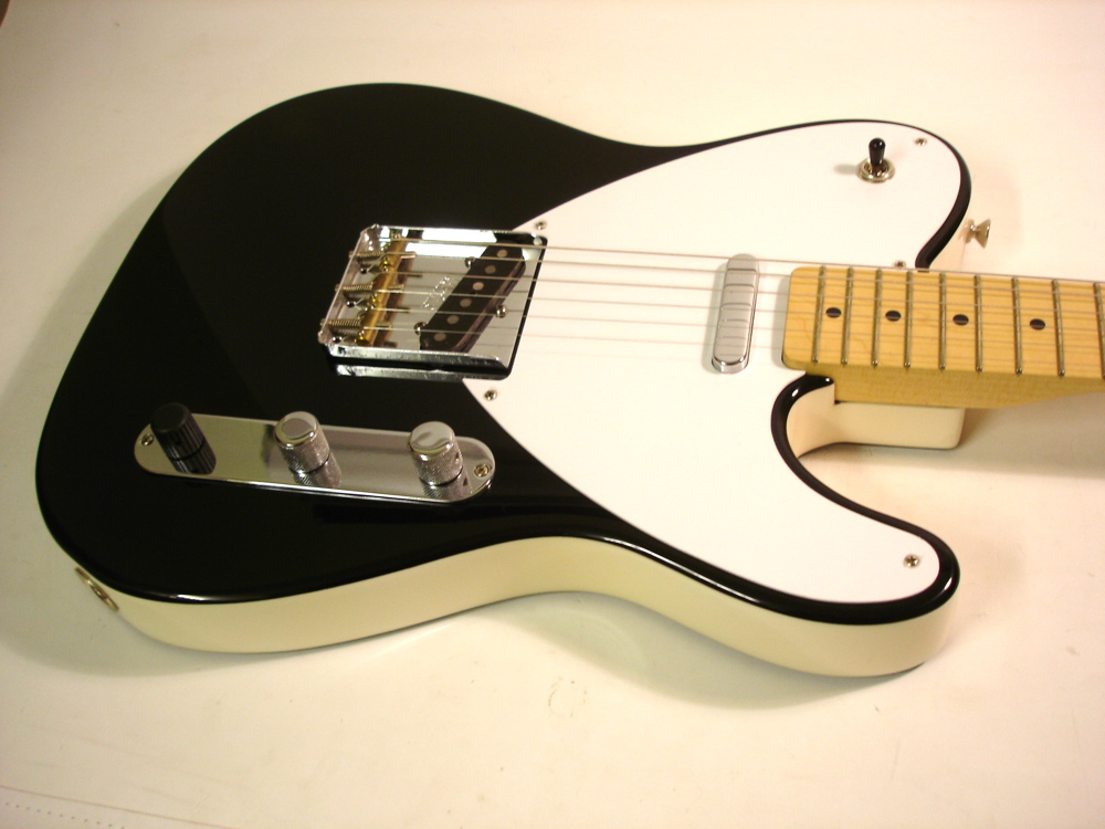 Custom Fender Telecaster respray black