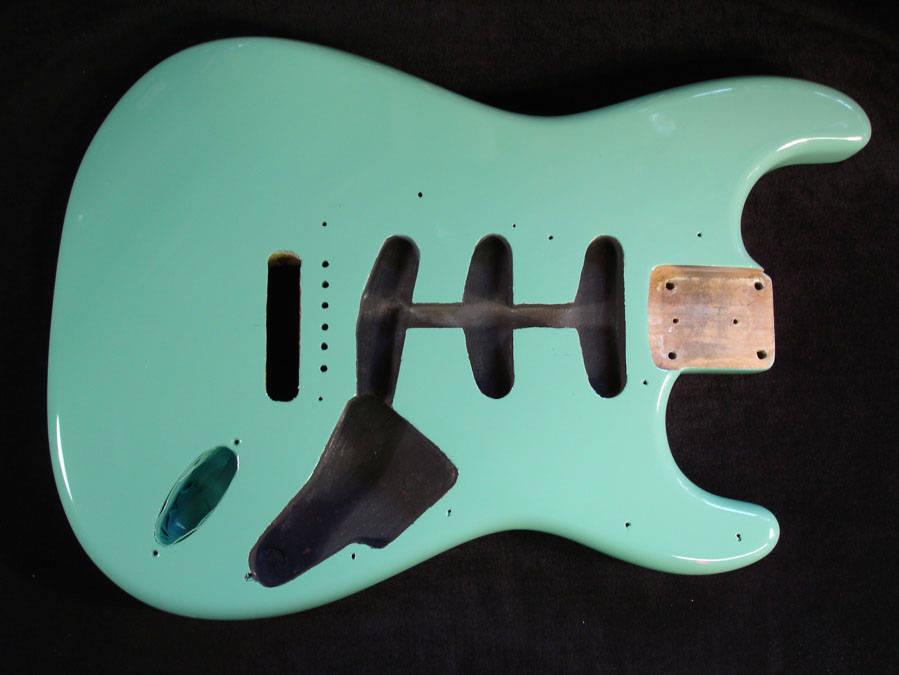 Custom Fender Stratocaster Seafoam Green
