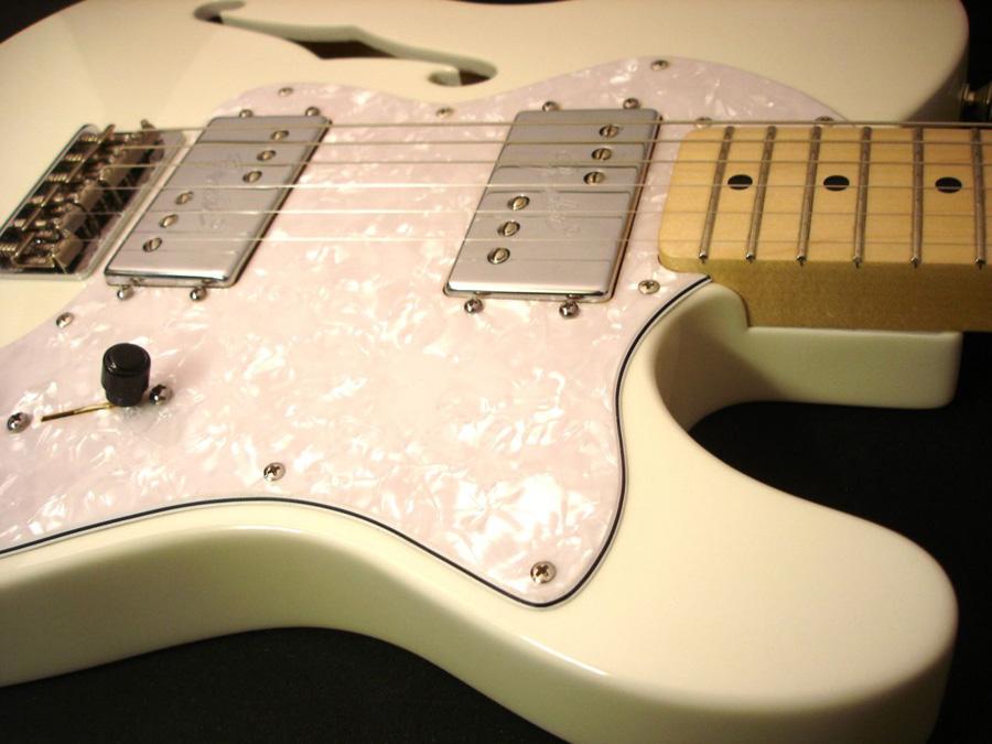 Olympic White Fender Telecaster