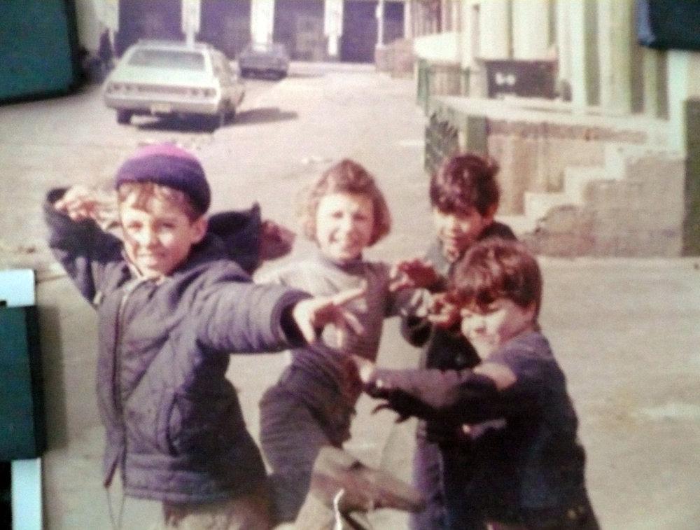 Everybody was kung-fu fighting, Those kicks were fast as lightning   Williamsburg, Brooklyn circa 1977