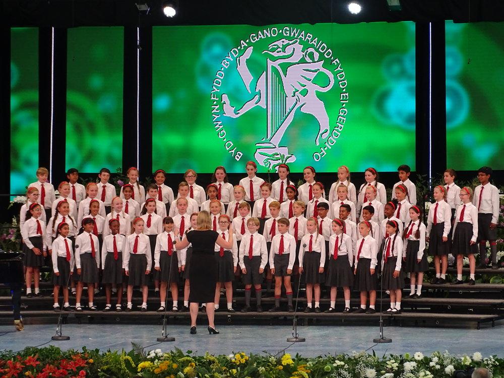 Hymers choir performing.JPG