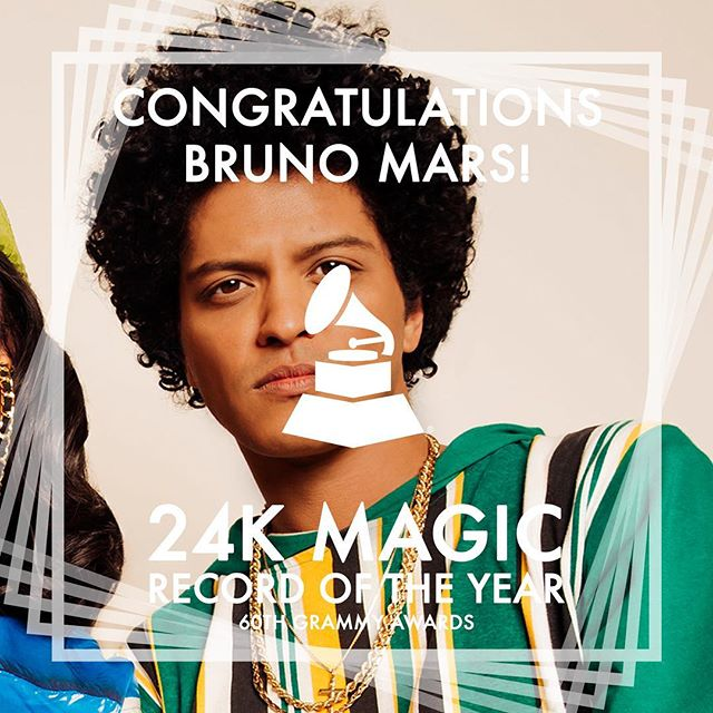 Strike 2 @brunomars • • • • #music #2018grammys #grammys #dancemusic #dance #90s #throwback #brunomars #90skid #songoftheyear #recordingacademy #singer #singers #songwriter #songwriters #hawaii #rnb #singersongwriter #producer #musicproducer #musicproduction #musicproducers #hawaiin #rhythmandblues #popmusic #songs #song #rnb #mars #bruno #24kmagic