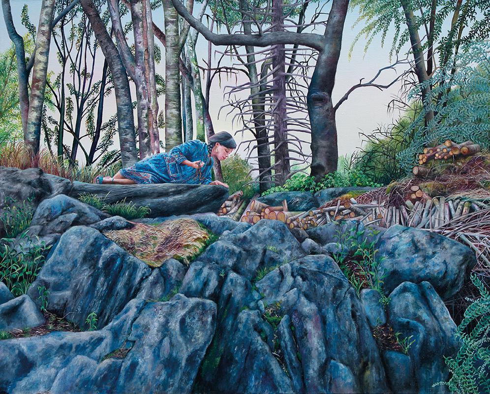 Central Park - 2011  Oil on canvas,160 x 200cm