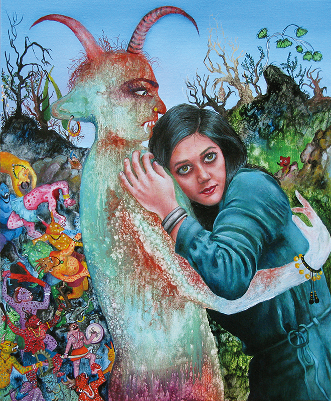 Zari - 2011  Oil on canvas,61 x 50cm