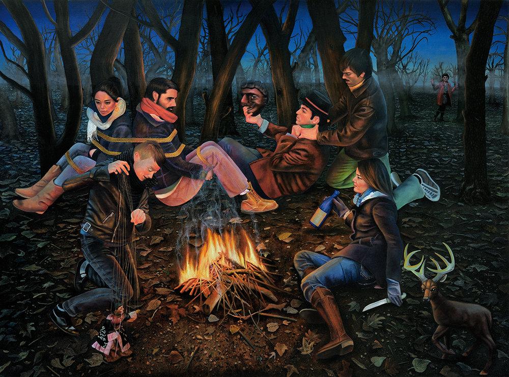 Zarathoustra  - 2010  Oil on canvas,185 x 250cm