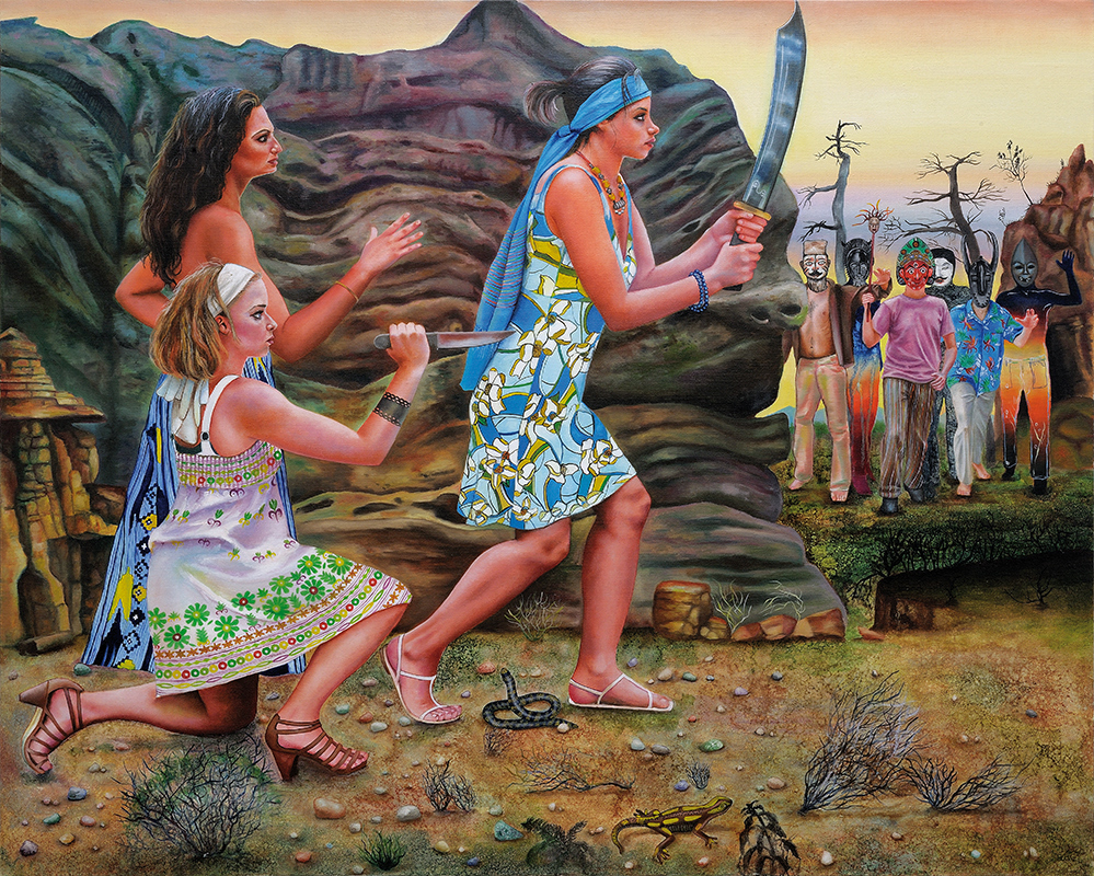 Animus - 2009  Oil on canvas,130cm x 162cm