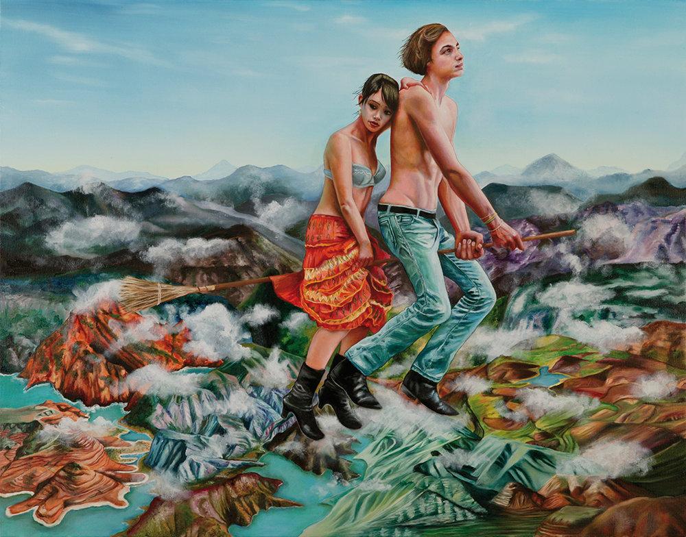 L'ultime voyage - 2009  Oil on canvas,114 × 146cm