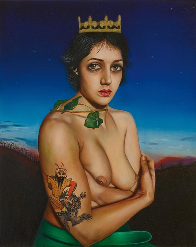 Leila -2008  Oil on canvas, 81 × 65cm