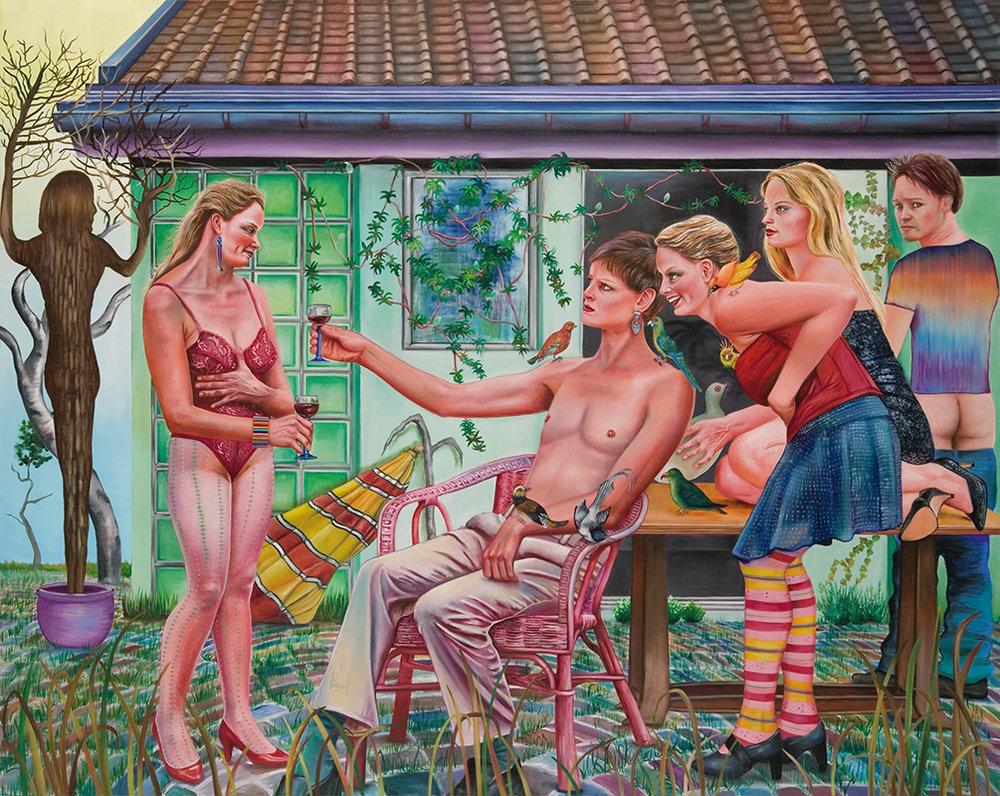 Meine liebe - 2008  Oil on canvas, 160 × 200cm