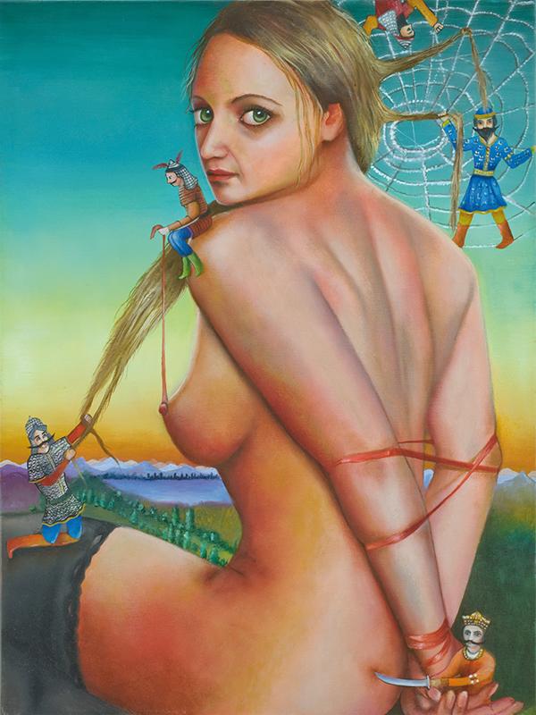 Setareh    -2008  Oil on canvas,60 x 45cm