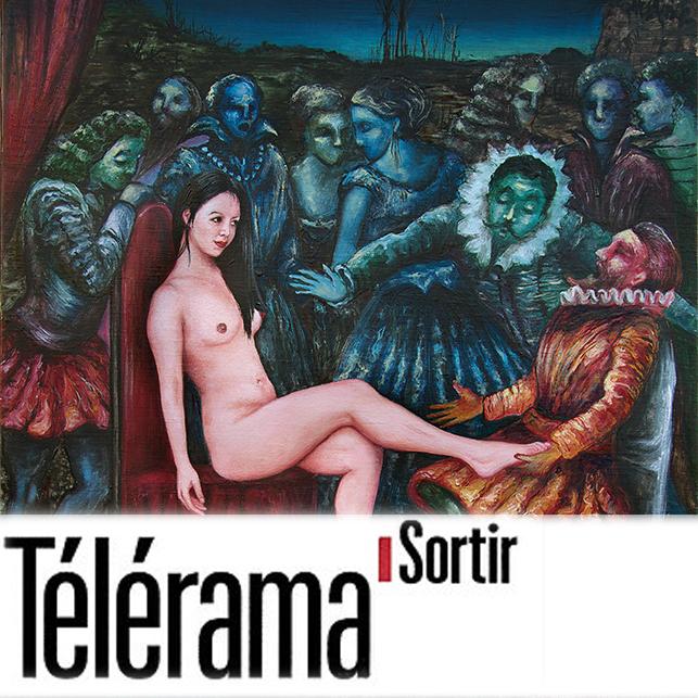 TÉLÉRAMA SORTIR   Sabrina Silamo  january 2016