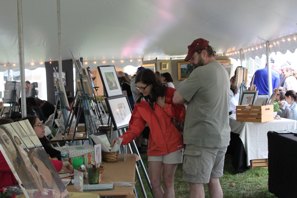 Art Sales & Demonstrations - Students, faculty, and alumni of the Lyme Academy College of Fine Arts will showcase their works for sale under the tent at the Academy. Demonstrations of various art techniques will also be provided. 9am-4pm.