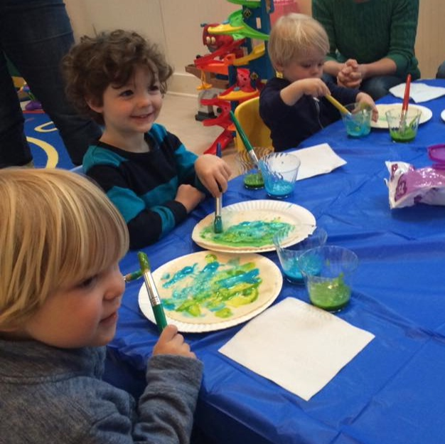 wee little artists - Regularly Scheduled. Little ones will meet new friends and enjoy fun adventures at one of the many Lyme Youth Service Bureau playgroups. Check out the website for the full array of February activities, that include such artsy fun as Music & Movement, Its Theatertime!, and Make It & Take It.
