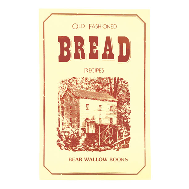 Bread - Old-Fashioned Bread RecipesHistorical notes describe life as it was in the past, when mills dotted the landscape, built on rivers and streams to serve the villages, farms and growing cities. The book's 56 recipes were collected from many parts of North America, with some having their origins in the old world. They include yeast breads, quick breads and traditional favorites, such as corn pone, hush puppies and elephant ears.