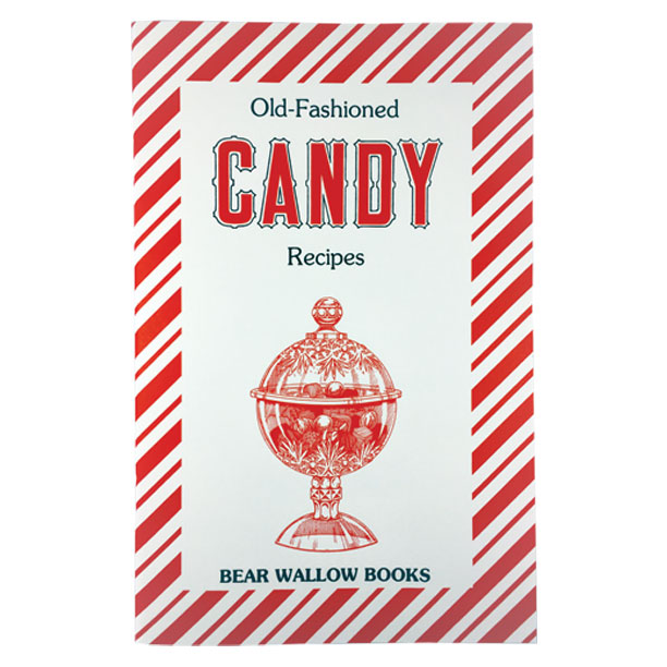 Candy - Old-Fashioned Candy RecipesHistorical notes trace candies back to several eras in history, from Europe, through the early settlers learning about maple sugar from native tribes, the American revolution and the Civil War. There are candy-making tips and instructions for dipping chocolates, as well as 67 recipes for many kinds of hard and soft candies which are beaten, pulled, word, or dipped, as well as fruit and nut confections.