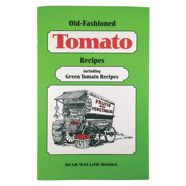 Tomato - Old-Fashioned Tomato Recipes: including Green Tomato RecipesGeorge Washington grew tomatoes at Mt. Vernon, according to historical notes, but most people thought they were poisonous well into the 19th century. Now fresh-picked tomatoes are an American favorite. 75 recipes include main dishes, juices, soups, salads, sauces, cakes, puddings and preserves. The book includes sections on canning and freezing and cooking with green tomatoes.