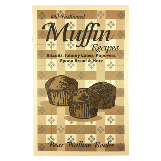 Muffin - Old-Fashioned Muffin Recipes: Biscuits, Johnny Cakes, Popovers, Spoon Bread & MoreHistorical notes touch on early American history and the days when anyone setting out on a journey took along a sack of cornmeal for sustenance. In addition to muffins, the book's 69 recipes also include biscuits, Johnny cakes, popovers, spoon bread, fritters and more. The origin of Sally Lunn bread is described and notes on preparing perfect popovers are included.