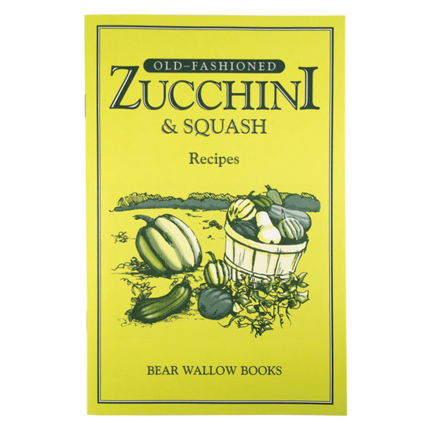 Zucchini & Squash - Old-Fashioned Zucchini & Squash RecipesIs zucchini American or Italian? Squash has been cultivated for more than 2,000 years! Historical notes explore the impact these vegetables have had on many cultures. Varieties of summer and winter squashes are described, and the books 63 recipes include breads, desserts, casseroles & baked dishes, soups, salads, skillet dishes and other treats.