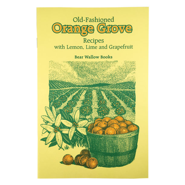 Orange Grove - Old-Fashioned Orange Grove Recipes: with Lemon, Lime & GrapefruitColumbus introduced oranges to the western hemisphere in 1493, and they have been popular ever since! Citrus fruits now grow in several states and are available year-round. This collection of 74 recipes makes delicious use of them in beverages, breads, breakfast and brunch dishes, desserts, main dishes, salads, dressings and marmalades.