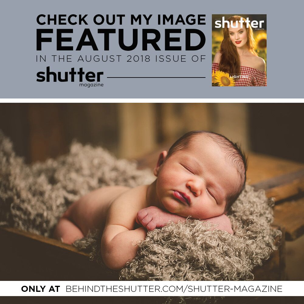 This is our second feature in 2018! Check out Behind the Shutter Magazine online at behindtheshutter.com or purchase in stores at Barnes and Noble.