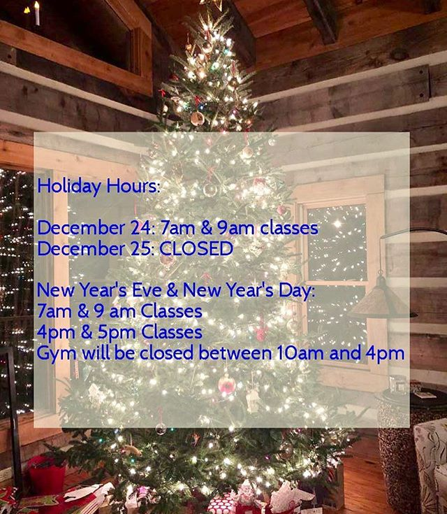 How is Christmas next week?? Any last minute shoppers around here ? 👋🏼🤷🏽‍♀️ Here are our holiday hours for Christmas Eve, Christmas Day, New Year's Eve and New Year's day! Feel free to contact us with any questions you may have! _____________________________________________ 💪🏽 . #ashevillefitness #828isgreat #asheville #crossfit #consistency #crossfitgirls #weightlifting #community #workout #motivation #fitfam #powerlifting #lifestyle #reebok #avlfit #goals #summitcrossfit #betterthanyesterday #avltoday #crossfittraining #spartanracetraining