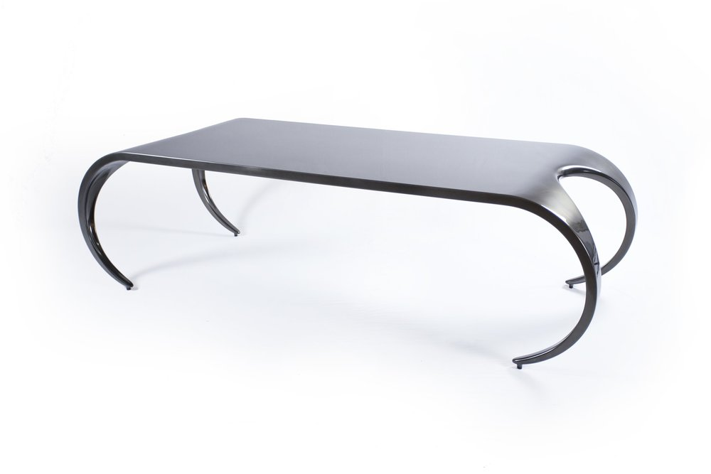 8 Seater Gun Metal Finish Awkward Table Top.jpg