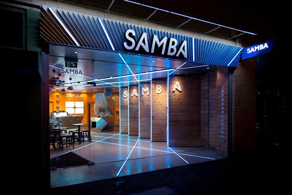Samba Swirl, Camden, London, UK