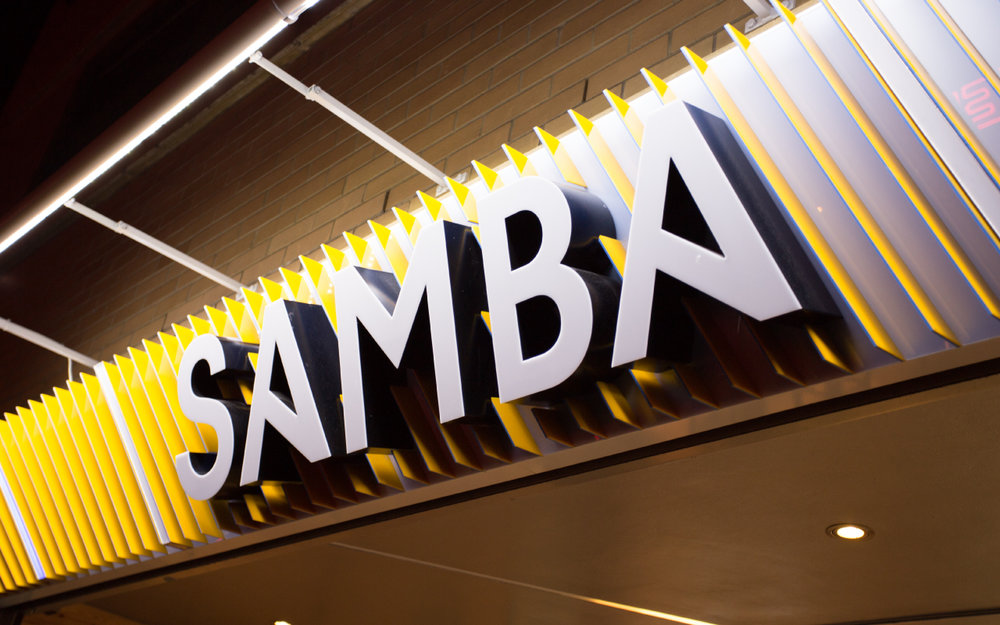 Samba Swirl Brand Identity